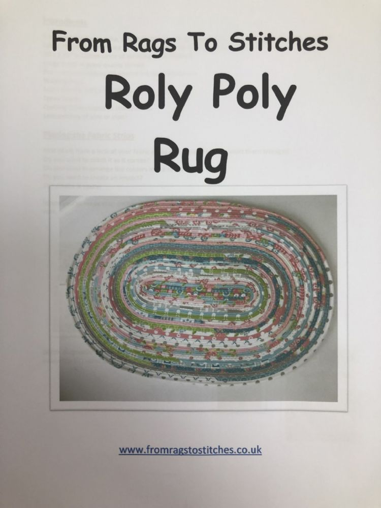 From Rags To Stitches Roly Poly Rug Sewing Pattern